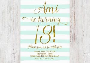 13 Year Old Birthday Party Invitations Best 25 Teen Ideas On Pinterest