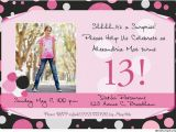 13 Year Old Birthday Party Invitations Best Photos Of 13th Birthday Party Invitation Templates