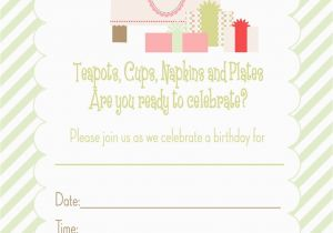 13 Year Old Birthday Party Invitations Printable