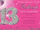 13th Birthday Card Template Free 13th Birthday Invitation Template orderecigsjuice Info