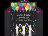 13th Birthday Dance Party Invitations Free Dance Party Invitations Free Party Invitations