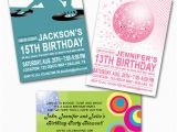 13th Birthday Dance Party Invitations Paper Perfection Dance Party Invitations