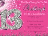 13th Birthday Invitation Wording Free 13th Birthday Invitation Template orderecigsjuice Info