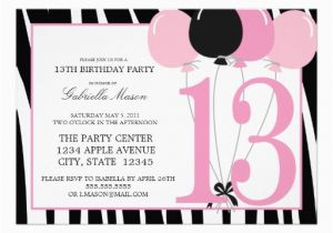 13th Birthday Invitation Wording Ideas 127 Best 13th Birthday Party Images On Pinterest