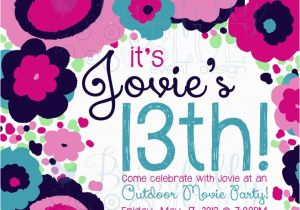 13th Birthday Invitation Wording Ideas Party Dolanpedia