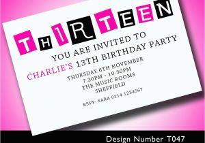 13th Birthday Invitation Wording Samples Best Party Ideas