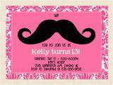 13th Birthday Invites 13th Birthday Party Invitation Ideas Bagvania Free