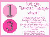 13th Birthday Invites Personalised Boys Girls Teenager 13th Birthday Party