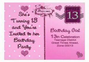 13th Birthday Invites Quotes For Girls Quotesgram