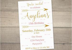 14th Birthday Party Invitations Invitation