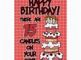15 Year Old Birthday Card Happy Birthday 15 Years Old Greeting Card Zazzle