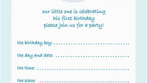 15 Year Old Birthday Invitations 10 Childrens Birthday Party Invitations 1 Year Old Boy