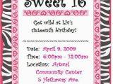 16 Birthday Invitation Wording Sweet 16 Birthday Invitation Printable orderecigsjuice Info