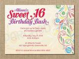 16 Birthday Invitation Wording Sweet 16 Birthday Invitations Templates Free Sweet 16