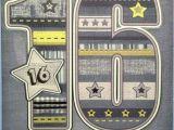 16th Birthday Card Boy 16th Birthday Card Male Boy Age 16 Happy Birthday Nice