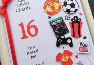 16th Birthday Card Boy Personalised 13th 14th 15th For Boys