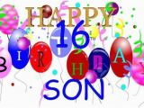 16th Birthday Cards for son Awesome 16th Birthday Wishes for Dear son Graphic Nicewishes