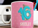 16th Birthday Gifts for Him Uk Personalised Birthday Mugs Presents Cards for 16th