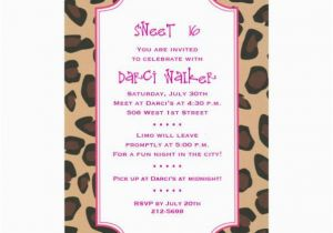 16th Birthday Invitation Wording My Pinterest