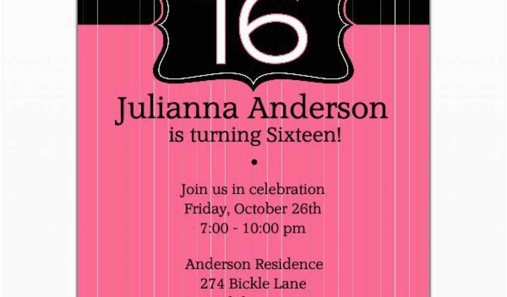 Download By SizeHandphone Tablet Desktop Original Size Back To 16th Birthday Invitations For Boys