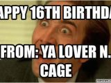 16th Birthday Meme Happy 16th Birthday