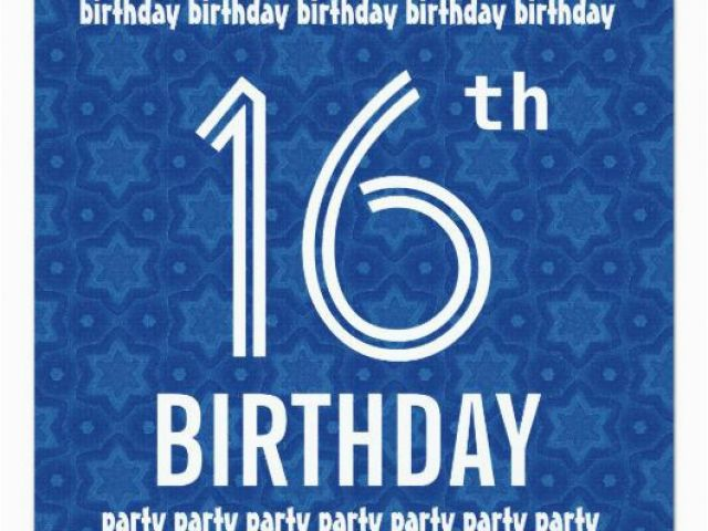Download By SizeHandphone Tablet Desktop Original Size Back To 16th Birthday Party Invitations Boy