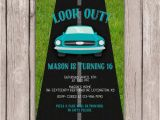 16th Birthday Party Invitations for Boys Printable 16th Sixteenth Birthday Party Invitation Boy 39 S
