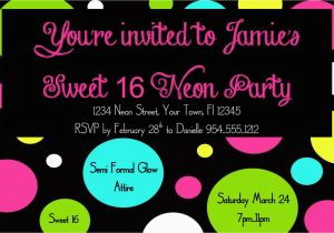 14 Photos Of The 16th Birthday Party Invitations Templates Free