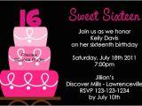 16th Birthday Party Invitations Templates Free Sweet 16th Birthday Invitations Templates Free Drevio