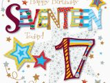 17 Year Old Birthday Cards Seventeen today 17th Birthday Greeting Card Cards