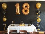 18 Birthday Party Decoration Ideas Gold and Black themed 18th Party Cute Outfits In 2018