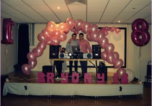 18 Birthday Party Decoration Ideas Memorable 18th