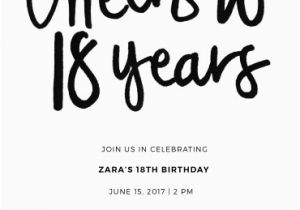 18 Year Old Birthday Party Invitations 18th Invitation Cards Designs By Creatives