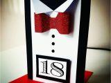 18 Year Old Birthday Presents Male 18th Handmade Birthday Card Justa Cards 18th Birthday