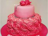 18th Birthday Cake Decorations Uk 18th Birthday Cake with buttercream Roses Gallery 2