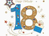 18th Birthday Cards for Boys Happy 18th Birthday Greeting Card by Talking Pictures