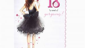 18th Birthday Cards for Girls 18th Birthday Card 18 Gorgeous Card Factory