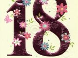18th Birthday Cards for Girls Happy 18th Birthday Greeting Card Cards Love Kates