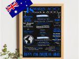 18th Birthday Gifts for Him Australia 18th Birthday Gift Etsy