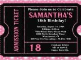 18th Birthday Invitation Card Sample 18th Birthday Invitation Card Sample Doyadoyasamos Com