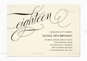 18th Birthday Invitation Templates Printable Free Free 18th Birthday Invitation Templates Best Party Ideas