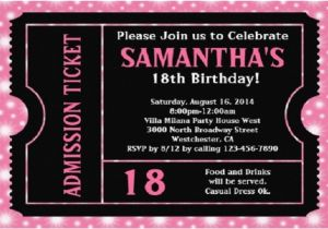 18th Birthday Invitation Wording Ideas Bagvania Free Printable