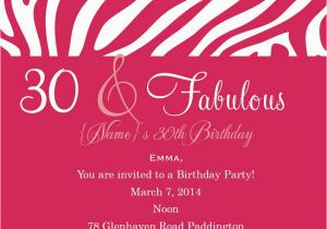 18th Birthday Invitation Wording Samples
