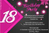 18th Birthday Invitation Wording Samples 18th Birthday Party Invitation Wording Wordings and Messages