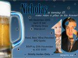 18th Birthday Invitations for Guys Personalised Guy 39 S 18th 21st Birthday Invitation