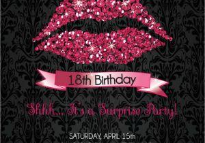 18th Birthday Party Invitation Ideas 18th Birthday Invitation 18th Birthday Party Invitation Hot
