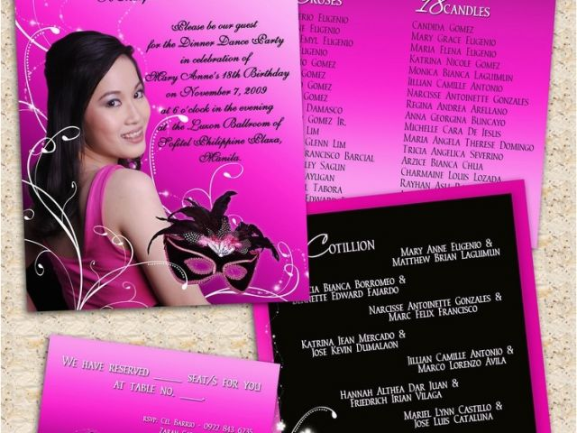 Download By SizeHandphone Tablet Desktop Original Size Back To 18th Birthday Party Invitation Ideas