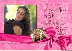 18th Birthday Party Invitation Ideas 18th Birthday Invitation Ideas Bagvania Free Printable
