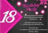 18th Birthday Party Invitation Ideas 18th Birthday Party Invitation Wording Wordings and Messages