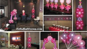 18th Birthday Party Supplies and Decorations Debut 18th Birthday Cebu Balloons and Party Supplies